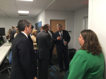 Vilsack connecting with students and faculty at Wilmington College